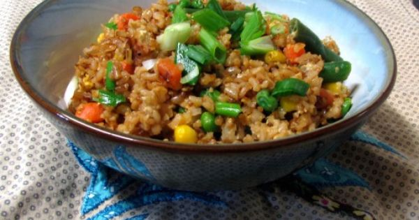 Fried rice, Simple fried rice and Rice on Pinterest