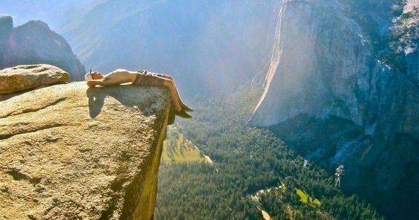 Is anywhere more relaxing than Taft Point in Yosemite? | 32 Reasons