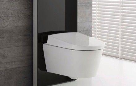 Geberit Aquaclean Sela Button Activated Shower Toilet Bidet