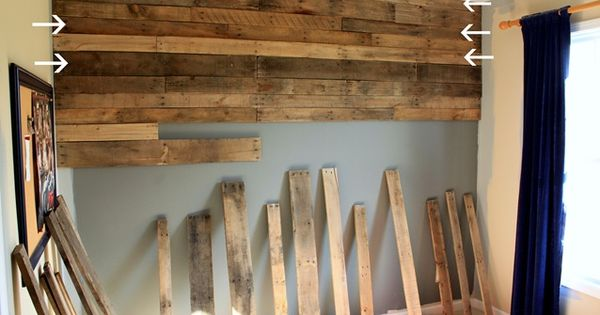 more pallet ideas (love the room divider/screen idea! also the pretty painted