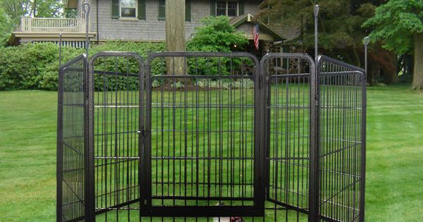 Large Dog 3ft Heavy Duty Cage Pet Barrier Fence Exercise