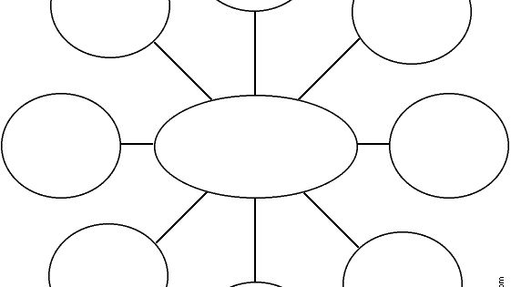 Star, Webbing, Cluster Graphic Organizer Printouts. Every Customizable Graphic Organizer You
