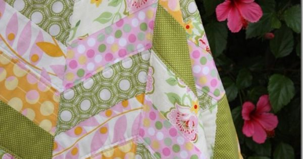 Quilt tutorial - it looks so easy and only 6 fat quarters