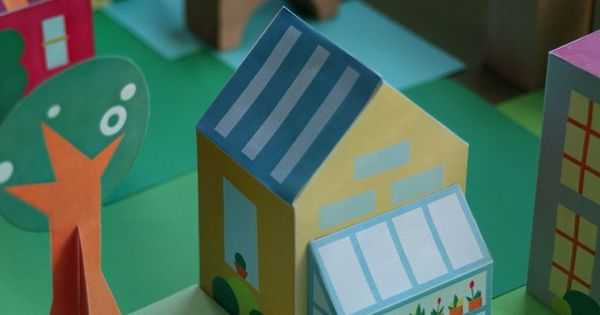 Free Printable Paper Toy House Download And Make 30