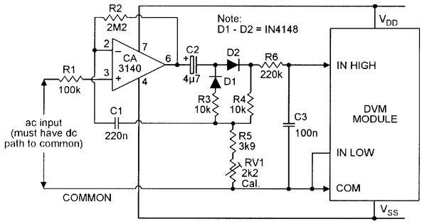 Op Amp Cookbook Part 4 Electronic Schematics Computer Lab