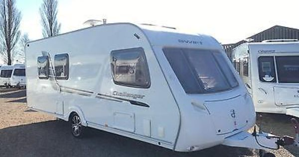 2010 Swift Challenger 580 4 Berth Fixed Island Bed Touring