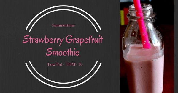 Grapefruit smoothie, Smoothie and Strawberries on Pinterest