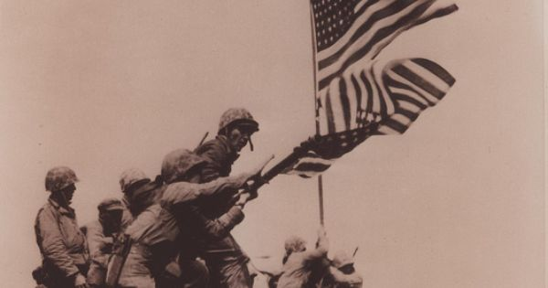 iwo jima day flag raised