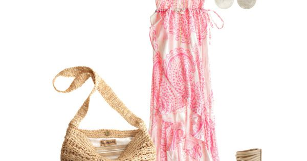 Pink/White Dress Outfit