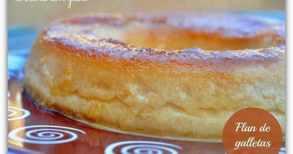 Flan de galletas en olla express cocinar en casa es - Judias pintas con arroz olla express ...