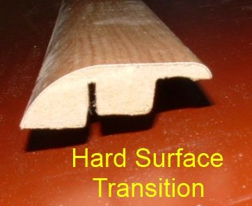 installing laminate transition mold