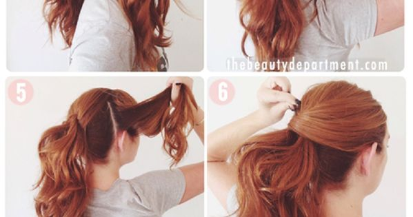 Lucy Hale's VMA Ponytail Tutorial - 11 Runway-Ready Ponytail Tutorials for Every