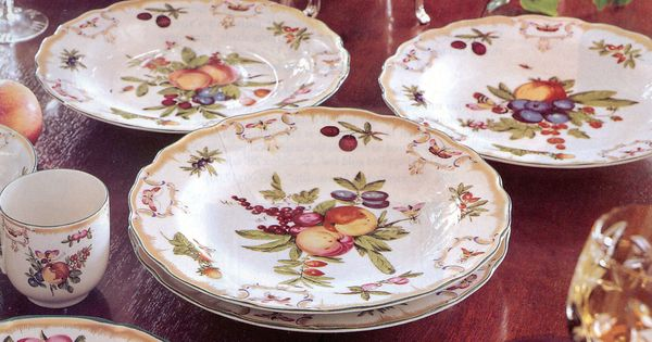 Mottahedeh Duke of Gloucester dinnerware For the Table
