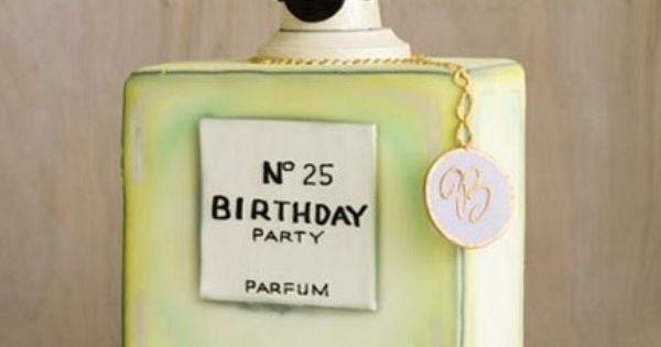Chanel Perfume Cake! I WANT ONE!!!!!!!!!!
