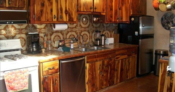 Cedar Cabinets For Outdoor Kitchen Primitive Outdoor