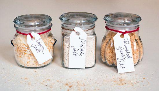 DIY gift idea: flavored salts