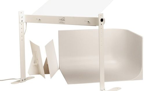 Mystudio Ms20 Professional Tabletop Photo Studio Kit W 5000k Continuous Lighting For Product Photo Photo Light Box Light Box Photography Portable Photo Studio