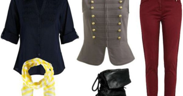i love the biker boots and vests. so cute!