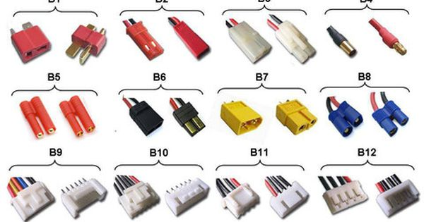 Rc 101 Battery Balance Connector Type Hobbywing North America Lipo Battery Connector