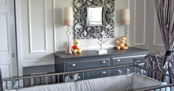 baby boy rooms design | ... Reveal: Silver and Grey Hollywood Glamour