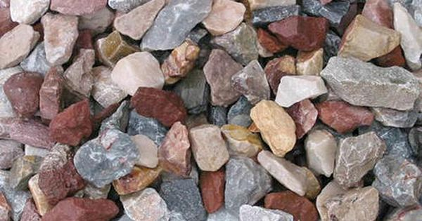 Mountain Blend Stone Decorative Rock 0 5 Cu Ft At Menards Rock Decor Landscape Materials Ground Cover