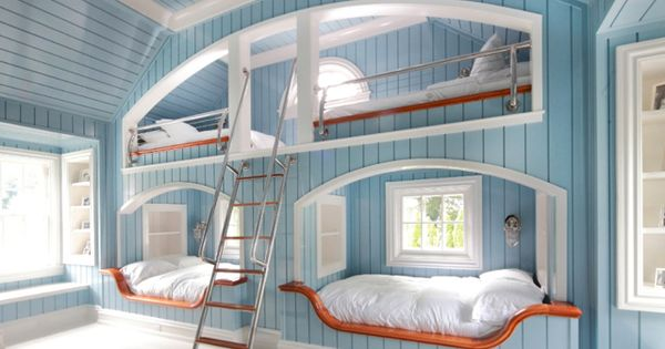 Bunk room idea for a lake house