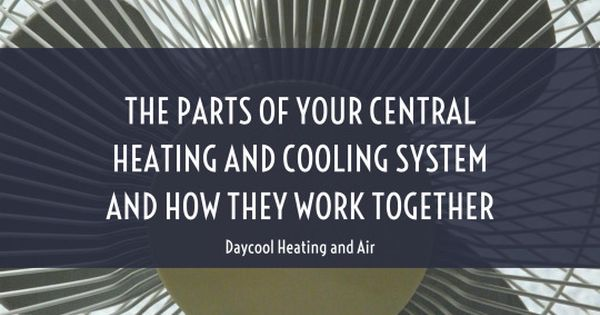 The Parts Of Your Central Heating And Cooling Systems And How