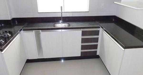 Resultado De Imagem Para Cozinha Com Granito Verde Ubatuba