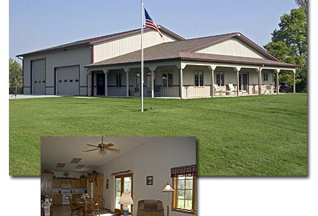 Anyone Have Plans Or Pics Of A Barndominium