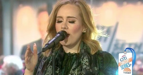 Queen Adele Sings Million Years Ago Says She Ll Probably Stream 25 Adele Singing Concert Series