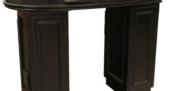 Lenox manicure table black black galaxy salon ideas for A lenox nail skin care salon
