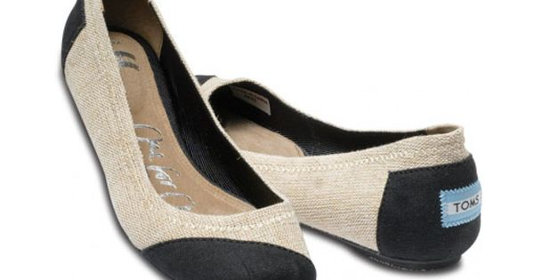 Toms Ballet Flats. If you buy one pair of Toms shoes, the