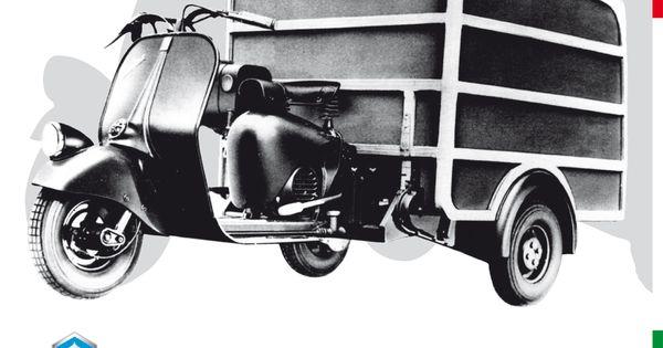 ape 125 by ufficio tecnico for piaggio 1948 100 years. Black Bedroom Furniture Sets. Home Design Ideas