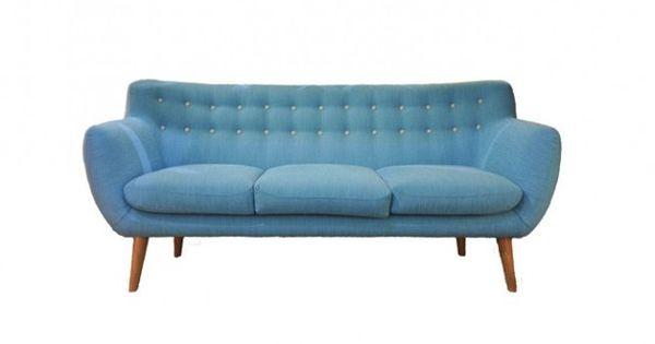 20 sentou canap bleu coogee style d co ann es 50 coin salon detente pinterest d co. Black Bedroom Furniture Sets. Home Design Ideas