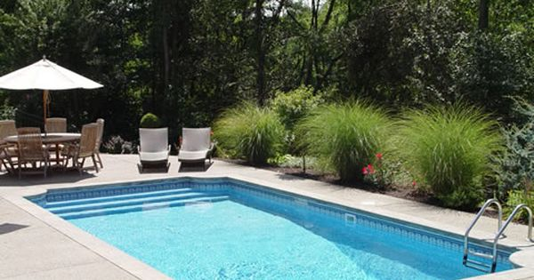 pool and patio decorating ideas on a budget | inground swimming