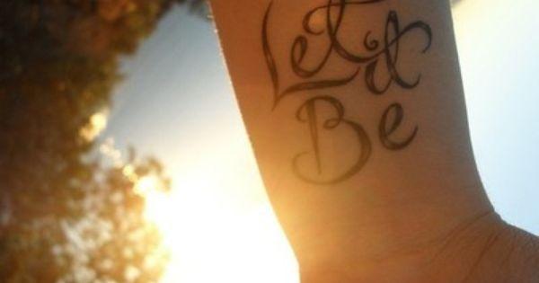 #letitbe