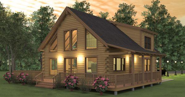 2 Bedroom Cabin Kits   Rickevans Homes