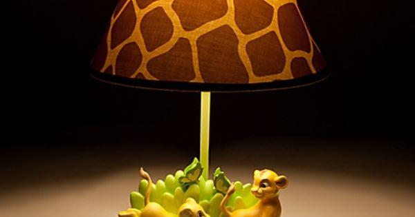 Disney Lion King Lamp For Baby Simba Amp Nala Playing On