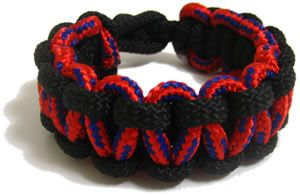 2 Color Paracord Bracelet Instructions With Images Paracord
