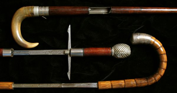 Kolibri Pistol Antique Marbles Sword Canes Gun Canes