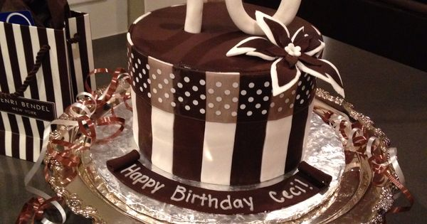 Henri Bendel Birthday Cake Just For Fun Pinterest
