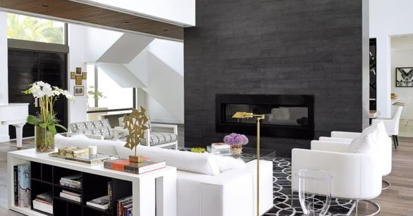 A Statement making Galvanized steel Fireplace Doubles As