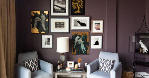 Benjamin Moore Paint Color Vintage Wine Purple Lotus