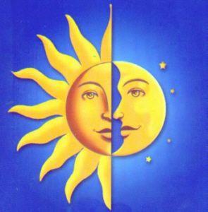 L Italiano Con Il Sole La Luna E Le Stelle Celestial Art Moon