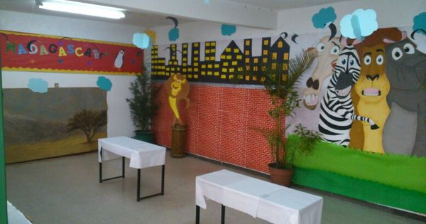 Madagascar Bulletin Board Decoration Classroom