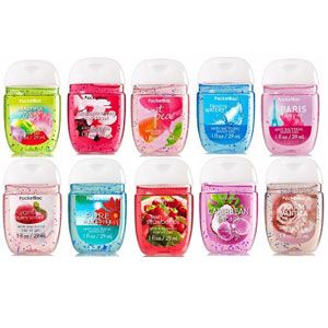 Strawberry Swirl Anti Bac Hand Sanitizer Bath N Body Works
