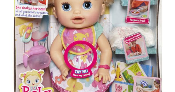 Baby Alive Real Surprises Baby Doll Caucasian Hasbro