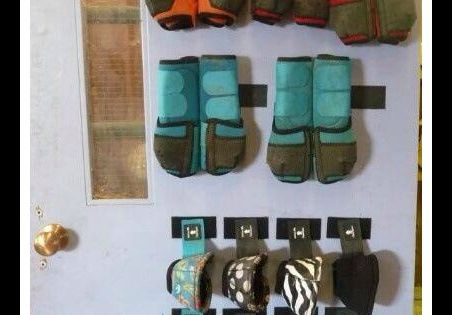 How to store your horses' schooling boots!
