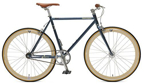 Road Bikes Retrospec Bicycles Mantra V2 Single Speed Fixed Gear