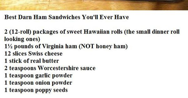Best Darn Ham Sandwiches You Ll Ever Have Recipes